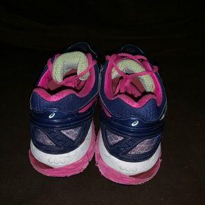 Asics Shoes - ASIC Gel Kayano 22 size 9.5 WOMENS navy pink
